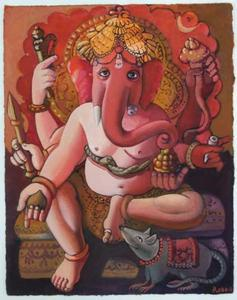THE LORD GANESHA by Alan Robb